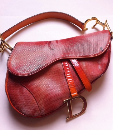 Christian Dior Saddlebag. Photo: PastFashionFuture.com