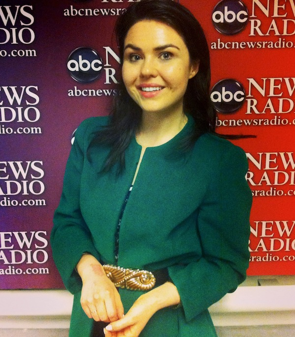Emma Grady at ABC News Radio in New York City.